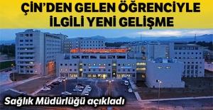 Mersin'de gözlem altına alınan hastada...