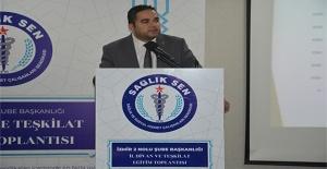 Özdemir'den Sağlık Müdürüne teşekkür