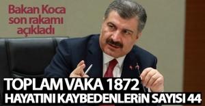 Sağlık Bakanı Koca son rakamı açıkladı!