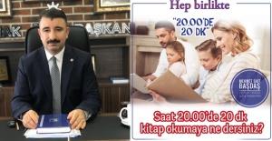 AK Partili Başkandan Örnek Davranış!...