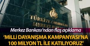 Merkez Bankası: #039;Milli Dayanışma...