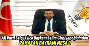 Başkan Girbiyanoğlu Ramazan Bayramını Kutladı