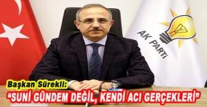 Başkan Sürekli: Gezi ruhu ile hareket ediyorlar