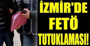 İzmir#039;de FETÖ tutuklaması