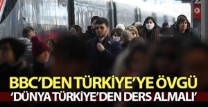 Korona virüs mücadelesinde Türkiye'ye büyük övgü