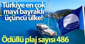 Türkiye'nin ödüllü plaj sayısı 486 oldu