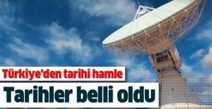 İşte uyduların uzaya gönderileceği tarih