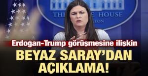 Erdoğan-Trump Görüşmesine Beyaz Saray'dan Açıklama