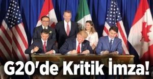 G20'de Kritik İmza!